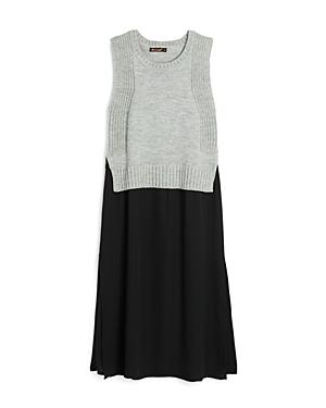 Ella Moss Girls' Sweater Top Dress - Big Kid