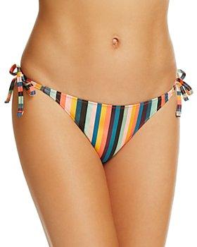 Paul Smith - Stripe Side Tie Bikini Bottom