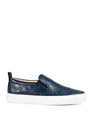Gucci Womens Dublin Slip On Sneakers