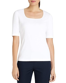 Lafayette 148 New York - Square Neck Tee