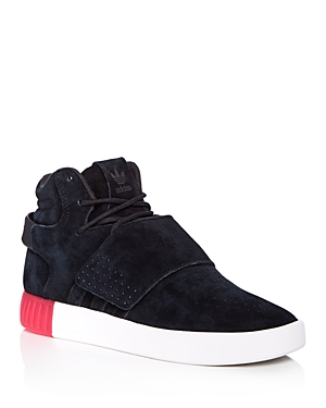 Adidas Women's Tubular Invader Strap Mid Top Sneakers