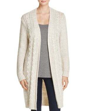 cupcakes and cashmere Neil Cable-Knit Duster Cardigan