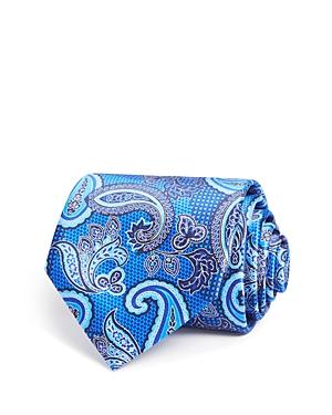 Canali Paisley Print Classic Tie