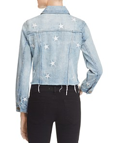 Pistola - Star Spangled Cut-Off Denim Jacket - 100% Exclusive