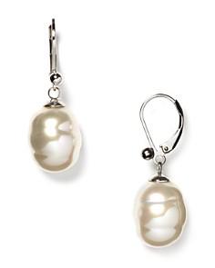 Majorica Baroque Simulated Pearl Drop Earrings - Bloomingdale's_0