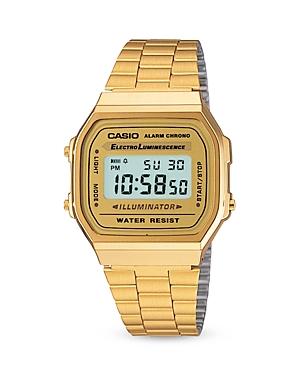 Casio Vintage Digital Watch, 36.8mm 33.2mm