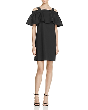 Whistles Minnie Ruffle Bardot Dress