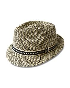 6157660c37b Bailey of Hollywood Mannes Braided Teardrop Crown Hat - Bloomingdale s 0