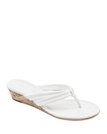 Bernardo - Women's Miami Two Strap Wedge Sandals