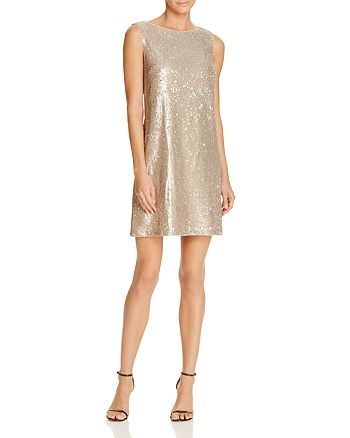 Betsey Johnson - Sequin Shift Dress