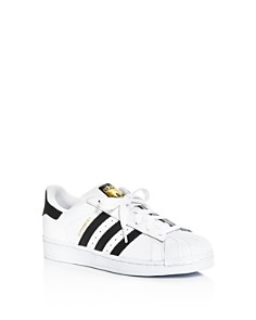 Adidas - Unisex Superstar Lace Up Sneakers - Big Kid