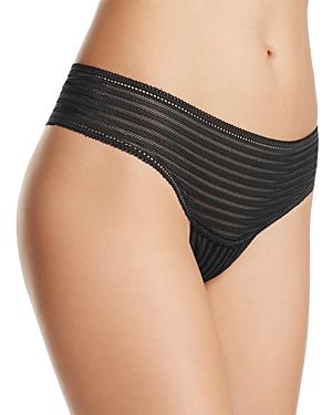 Cosabella Sweet Treats Shadow Stripe Thong