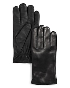 The Men's Store at Bloomingdale's Cashmere-Lined Basic Tech Gloves _0