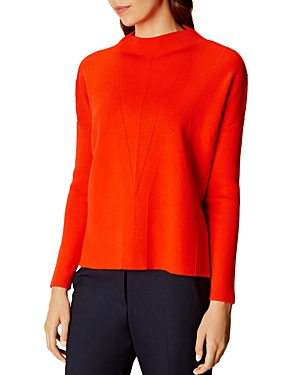 Karen Millen Funnel-Neck Sweater