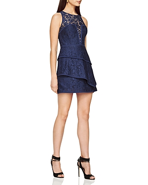 Bcbgmaxazria Tiered Lace Dress at Bloomingdale's