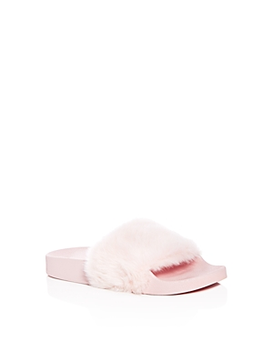 Steve Madden Girls' Softey Slide Sandals - Little Kid, Big Kid