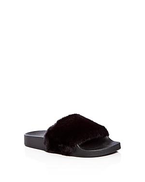 Steve Madden Girls' Softey Slide Sandals - Little Kid, Big Kid