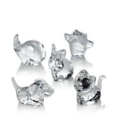 Baccarat - Minimals Animal Figurine Collection