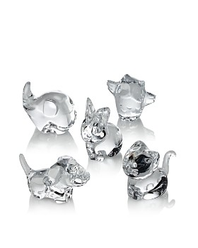 Baccarat - Minimals Animal Figurine Collection