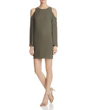 Aqua Cold Shoulder Bell Sleeve Dress - 100% Exclusive 2418029
