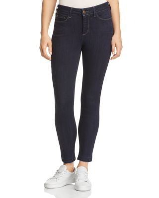 Ami High Waist Release Hem Stretch Ankle Skinny Jeans in Noma