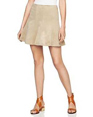 Bcbgmaxazria Nicky Faux Suede Mini Skirt at Bloomingdale's