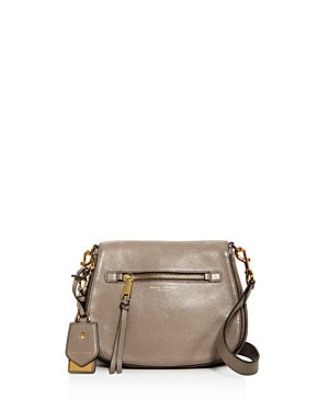 marc jacobs female marc jacobs recruit nomad leather saddle bag