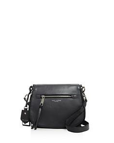 MARC JACOBS - Recruit Nomad Leather Saddle Bag
