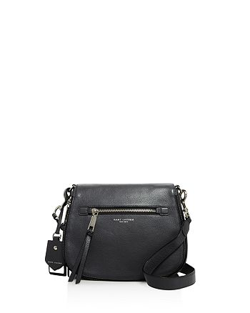 MARC JACOBS - Recruit Nomad Leather Saddle Bag