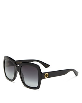 Gucci - Women's Oversized Gradient Square Sunglasses, 54mm
