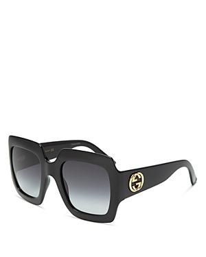 Gucci Women's Oversized Square Sunglasses, 54mm