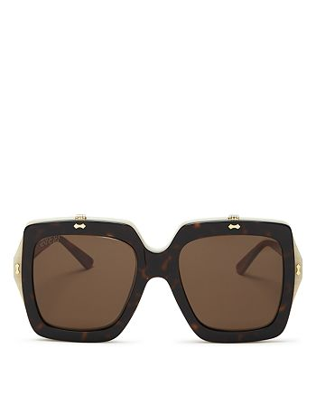 de82a49b443 Gucci - Women s Oversized Square Flip-Up Sunglasses