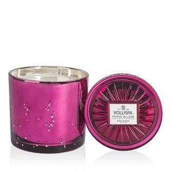 Voluspa - Perse Bloom Grande Masion Glass Candle