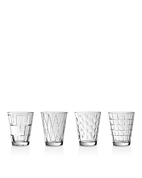 Villeroy & Boch - 4-Piece Dressed Up Assorted Tumbler Set