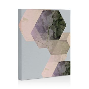 "Deny Designs - Marble Geometry 16"" x 20"" Canvas"
