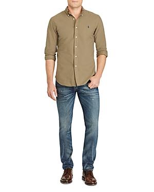 Polo Ralph Lauren Garment Dyed Cotton Slim Fit Button-Down Shirt
