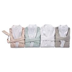 Coyuchi - Women's Organic Cotton Sateen Terry Robe