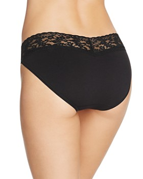 Hanky Panky - Cotton with a Conscience Lace V-Kini