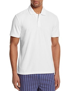 The Men's Store at Bloomingdale's Terry Cloth Regular Fit Polo Shirt - 100% Exclusive