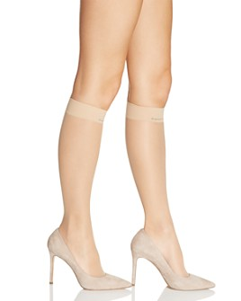 Calvin Klein - Matte Ultra Sheer Knee-Highs