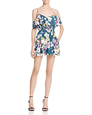 Guess Paige Ruffle Romper