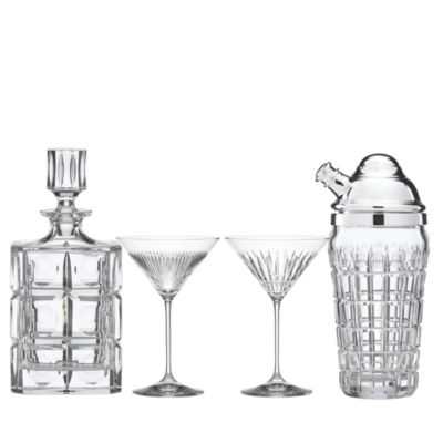 New Vintage Double Old Fashioned Glass, Set of 4