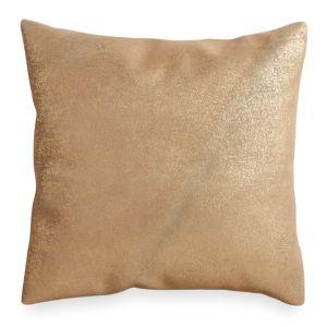 Donna Karan Opal Essence Metallic Printed Leather Decorative Pillow, 16 x 16