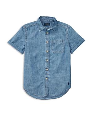 Ralph Lauren Childrenswear Boys Chambray Shirt  Sizes Sxl