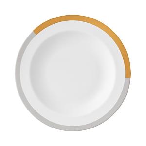 Vera Wang Wedgwood Vera Castillon Gold/Gray Rim Soup Bowl