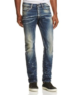 Prps Goods & Co. Lightweight Demon Slim Fit Jeans in Indigo
