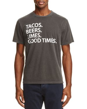 Chaser Tacos Beers Limes Graphic Tee