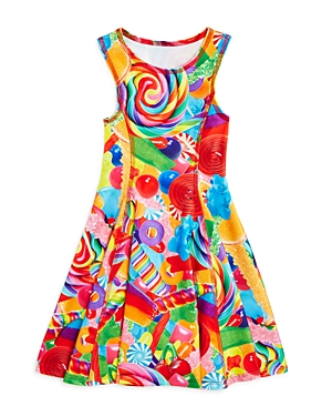Terez Girls' Candy Print Dress - Sizes 4-6X