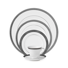 Waterford Crystal Newgrange Platinum Dinnerware - Bloomingdale's Registry_0