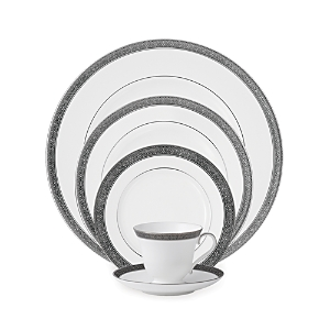 Waterford Crystal Newgrange Platinum 5 Piece Place Setting-Home